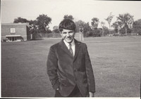 First day of School at Stanstead College September 1967